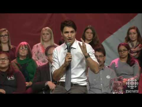 If you missed Justin Trudeau's Belleville visit. You can watch it here, too!