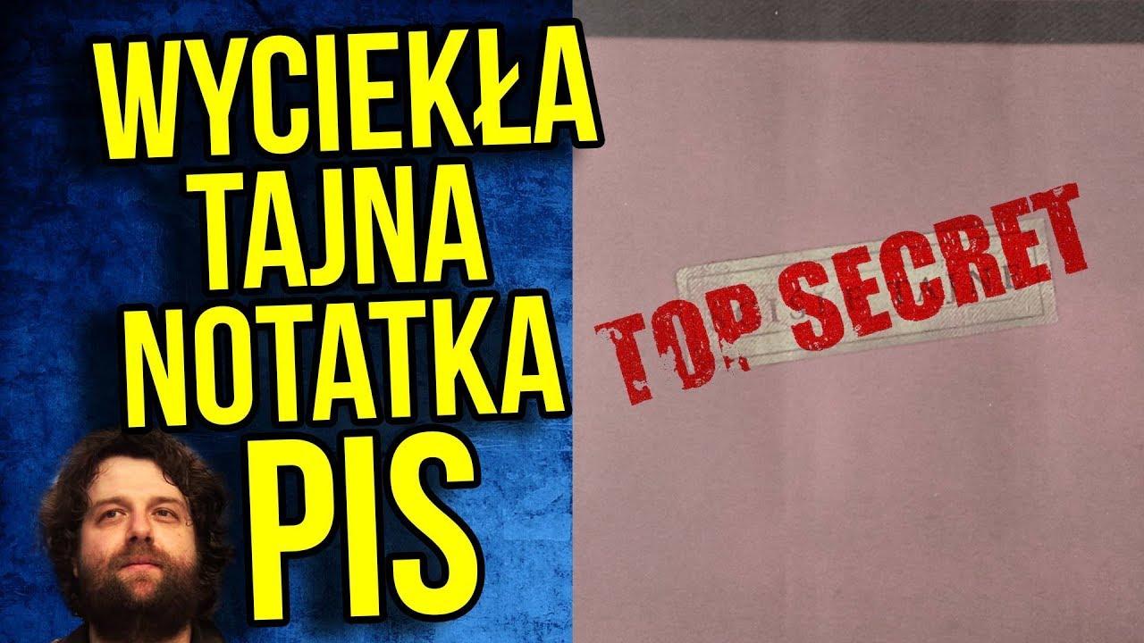 Wyciekła Tajna Notatka PIS o Ustawie IPN Spór Izrael Polska ZAPLANOWANY? Morawiecki mógł wiedzieć