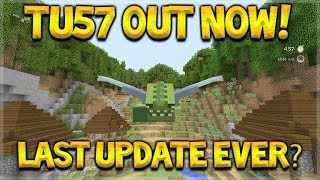 Minecraft Console Edition - NEW Title Update 57 OUT NOW!! The MCPE Update WHAT!?!?