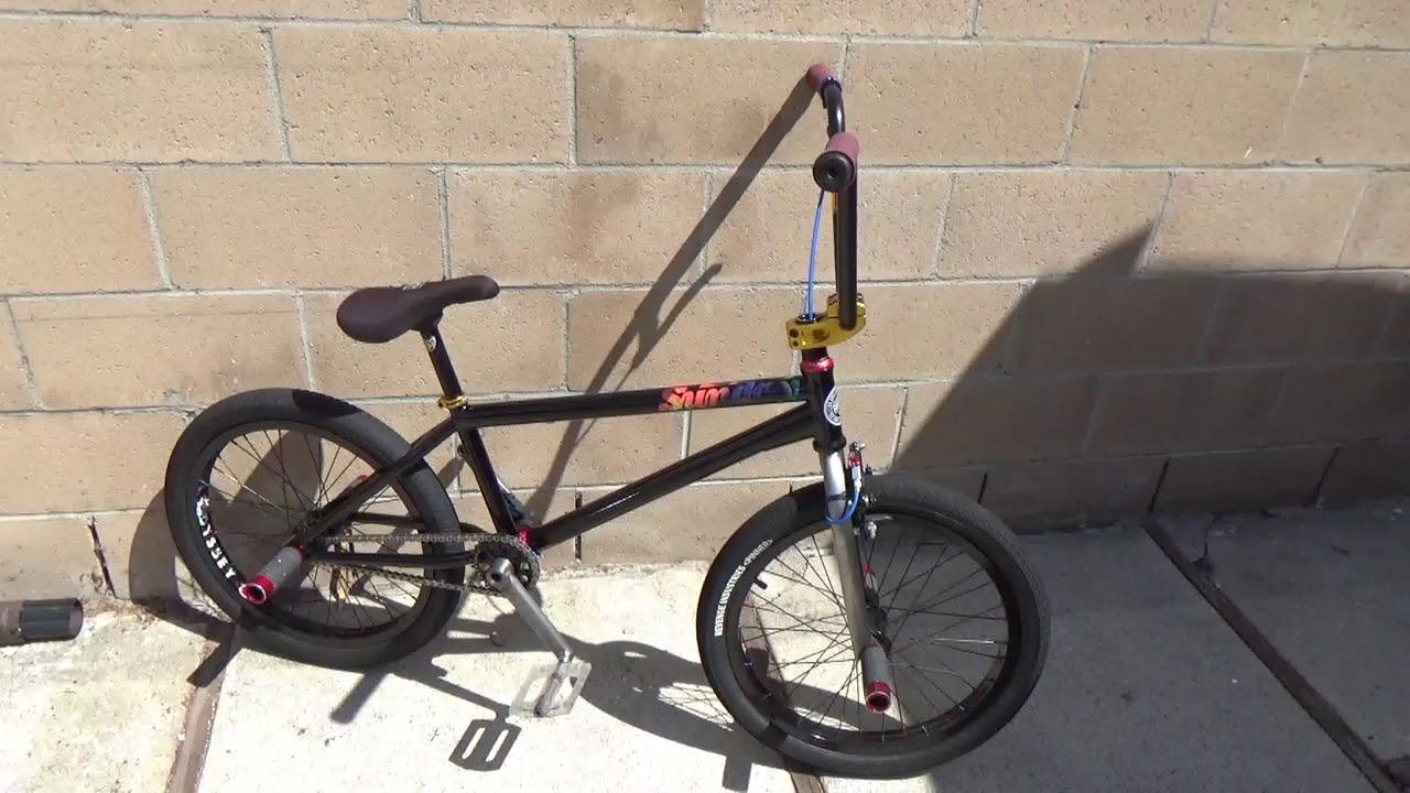 Bike check bmx flatland street bike Sunday Radocaster! Oh yeah 10 ...
