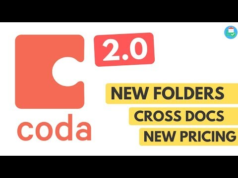 Everything You Need To Know: Coda 2.0