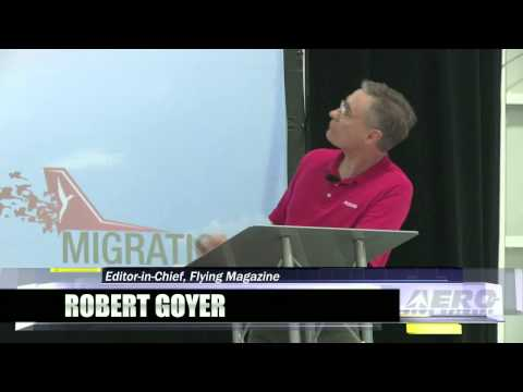 Aero-TV: Robert Goyer - Redbird Migration Flight Training Conference 2013