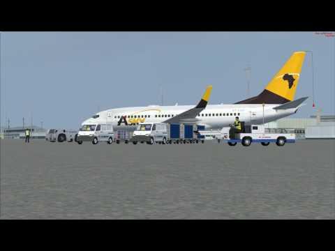 vol Luanda  à Huambo  (Angola)