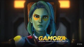 Marvel Ultimate Alliance 3: The Black Order - Gamora Gameplay (Nintendo Switch HD) [1080p60FPS]