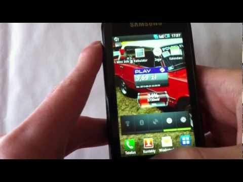 Samsung Galaxy 3 i5800 Apollo - Android 2.2 #1