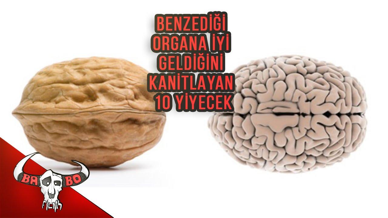 Benzediği organa iyi gelen besinler