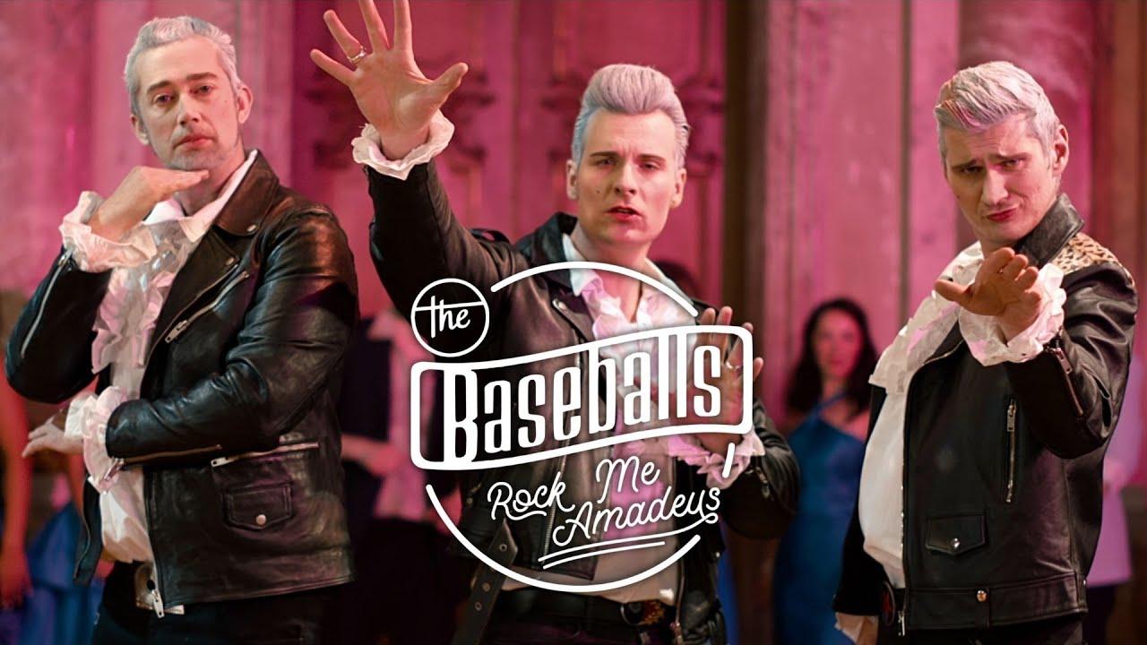 The Baseballs - Rock me Amadeus (Official Video) - YouTube