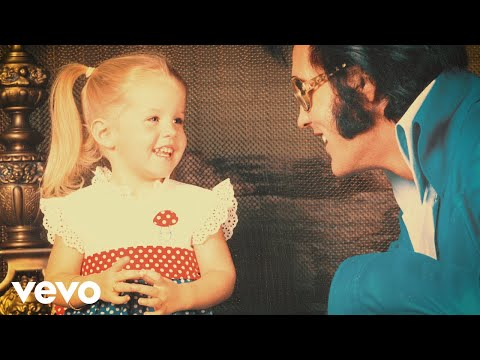 Elvis Presley - A Father and Daughter Duet - Where No One Stands Alone
