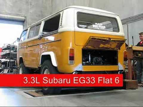 1977 Baja Kombi on the dyno II - The Suby EG33 Engine