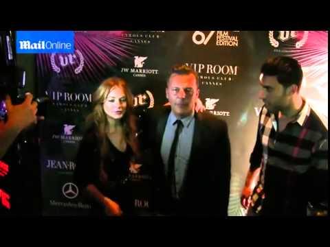 Lindsay Lohan  VIP Cannes 2014