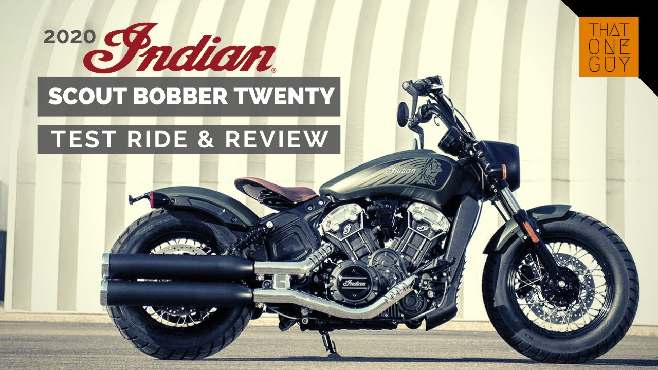 2020 Indian Scout Bobber Twenty test ride and review ...