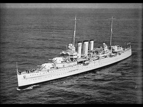 1927 HMS LONDON heavy cruiser battleship history facts