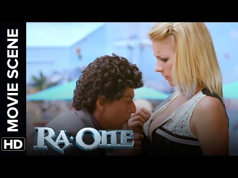 Shah Rukh's looses his car keys | RA.One | Movie Scene thumbnail
