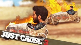 JUST CAUSE 3 MULTIPLAYER SOAP BOX RACE!! :: Just Cause 3 Multiplayer Funny Moments!