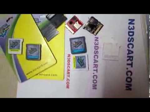 Mt card revolution for multi 3ds roms played on one cartridge