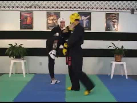 """How To Sport Karate -- """"Hidden Step and Counter"""""""