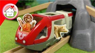 Playmobil Film deutsch - Kita Ausflug in den Brio Park - Zug Video für Kinder von Familie Hauser