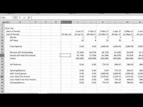 Working Capital in Project Finance - Complex
