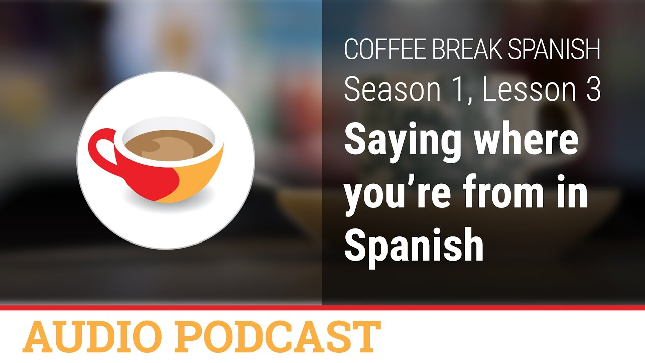 How do you say cafe in spanish