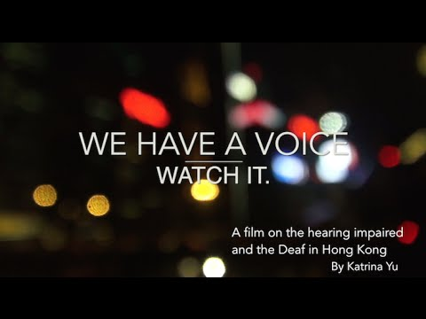 We Have a Voice. Watch it.