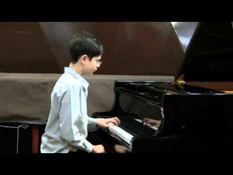 Ariel plays Bach Keyboard Partita No 3