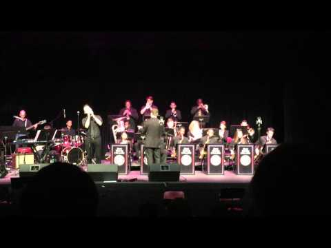 Feeling Good - Performed by the Five Towns College Jazz Band featuring Xavier Callicott 12/10/2015