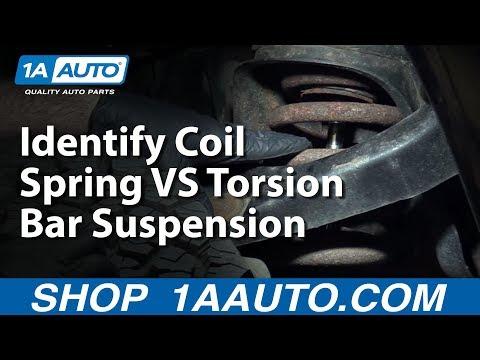 Identifying Coil Spring VS Torsion Bar Suspension