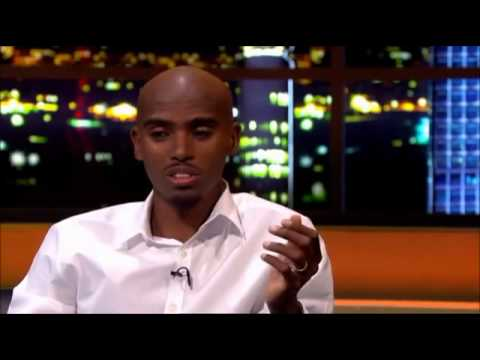 Mo Farah Interview on The Jonathan Ross Show