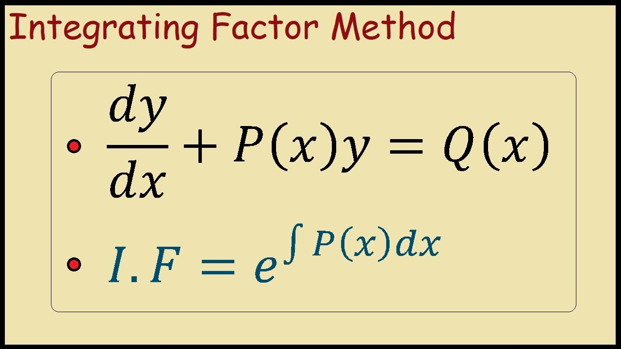 how to factorise linear equations