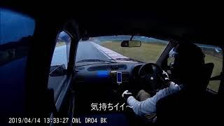 2019年4月14日 HSR九州 スピン動画は1分40秒~ #レース#EMZ#軽耐久#スピ...