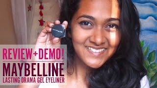 Maybelline Gel Eyeliner (REVIEW+DEMO!)