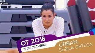 clase de urban con sheila ortega  15 oct    ot 2018