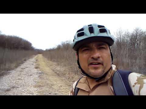 Mountain Biking the trails at Trinity River Audubon Center great adventure Part 3 of 7