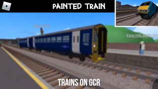 ROBLOX | **Painted 158** Trains On Grand Continental Railways (26/11/18)