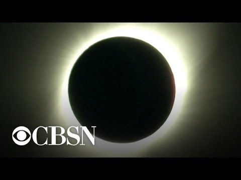 Total solar eclipse sweeps across South America