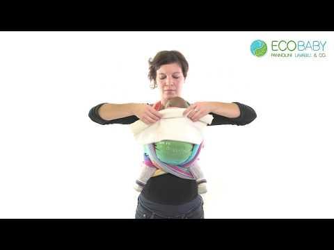 Come sostenere la testa del neonato in fascia