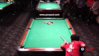 Must See! Dennis Orcollo runs a 6-Pack! 9 Ball!