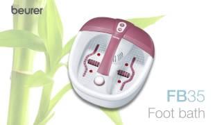 Guide d'utilisation Bain de pieds Relaxant Beurer FB 35