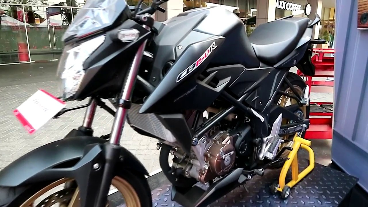 Honda New Cb 150 R 2017  Black Colour