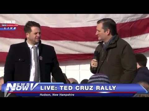 WATCH: Protesters Hijack Ted Cruz Rally In Hudson, New Hampshire