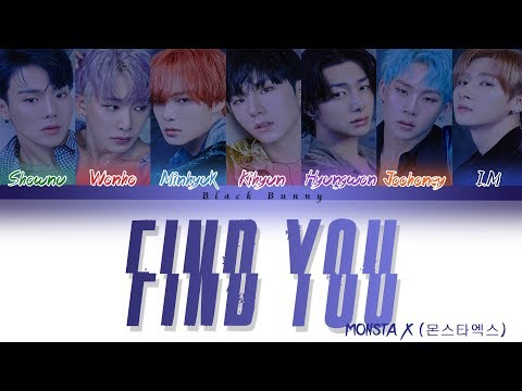 MONSTA X (몬스타엑스) - FIND YOU (Color Coded Lyrics Han/Rom/Eng/가사)