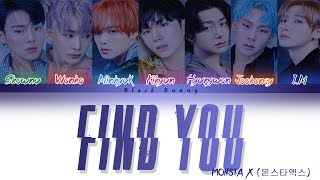 MONSTA X FIND YOU