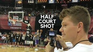 AUSTIN MILLS HITS HALFCOURT SHOT @ LAKER GAME! NBA Summer League Part 2