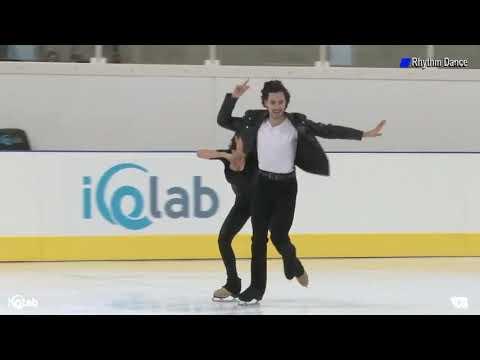 Anastasia SHPILEVAYA & Grigory SMIRNOV RUS RD 2019 Lombardia Trophy