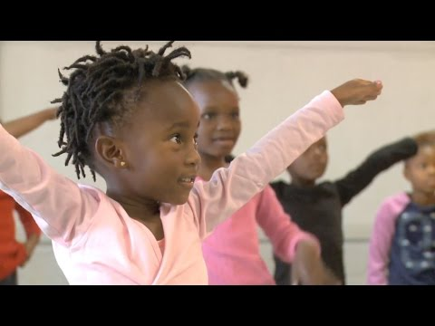 Bringing ballet to the townships of South Africa