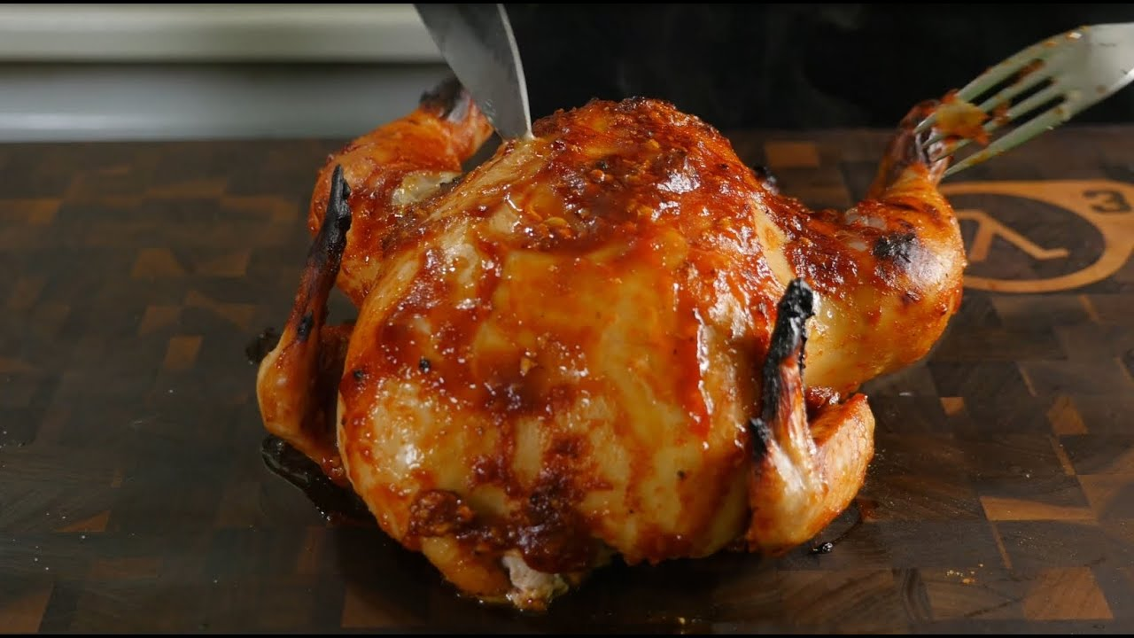 Супер-сочная кисло-сладкая курочка в духовке