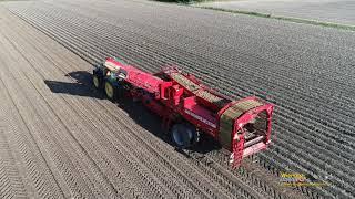 Aardappelrooien met GRIMME SV 260 Visbeek Marrum