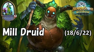 [Hearthstone] Mill Druid No Commentary(2018/6/22)