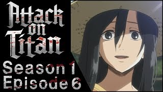 MY PARENTS REACT TO ATTACK ON TITAN & READ COMMENTS - Season 1 Episode 6