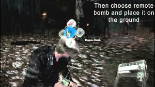 Resident Evil 6 | How To Use A Remote Bomb! (Tutorial)